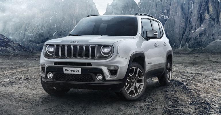 Jeep Renegade Alba e Bra