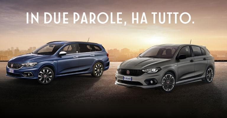 Fiat Tipo More Alba e Bra