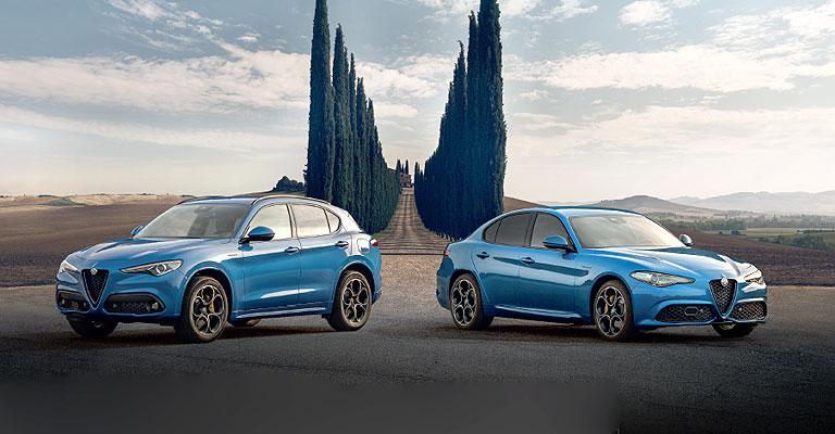 Alfa Romeo Stelvio e Giulia Veloce Launch Edition Alba e Bra