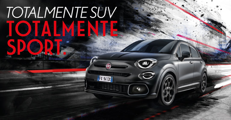 Fiat 500 X Sport Alba e Bra