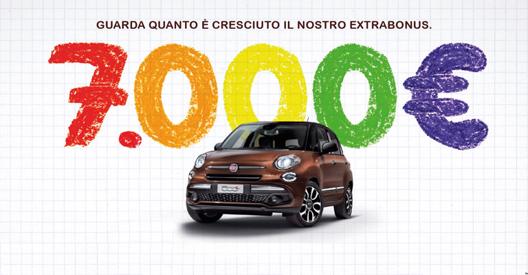 Fiat 500 L Alba e Bra