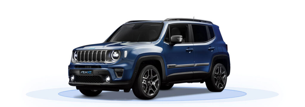 Jeep Renegade 4xe Alba e Bra