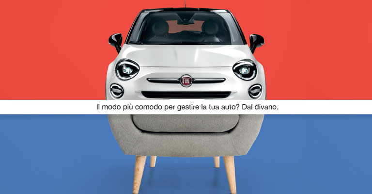 Promo Fiat 500X Hey Google